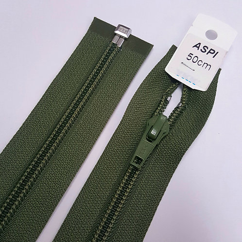 Avospiraaliketju 50 cm (khaki)