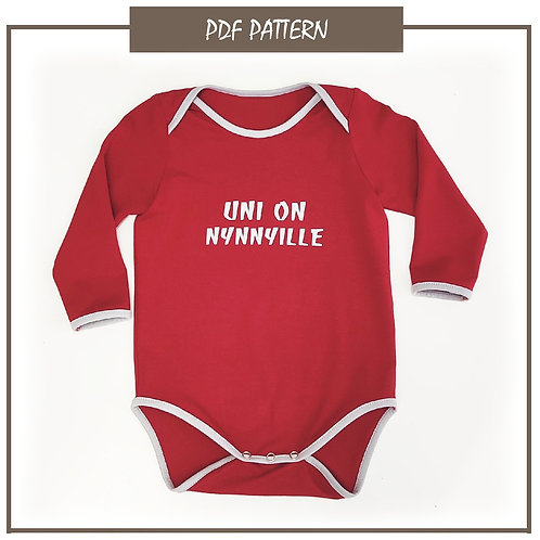 Children´s bodysuit, model 058, size 86