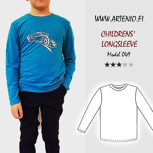 Longsleeve, size 152, model 049