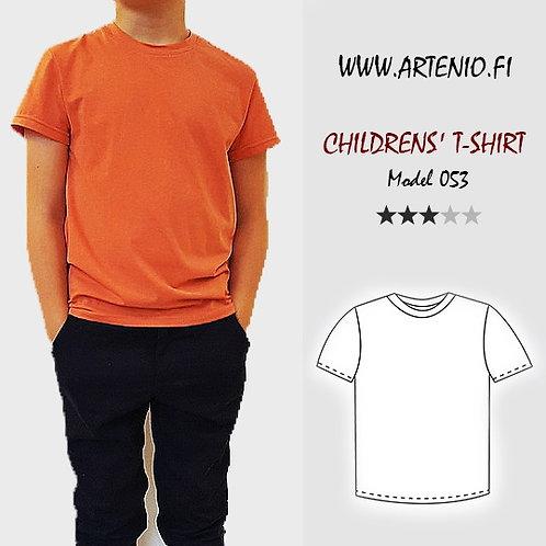 Lasten t-paita mod.053-158