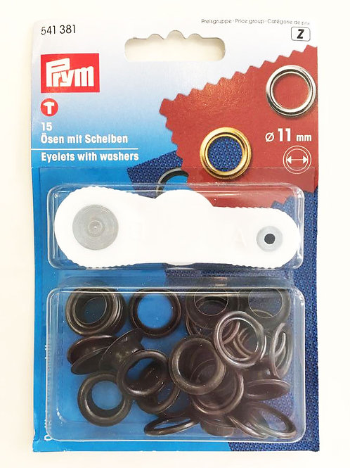Sirkkarengas  (musta) 11 mm