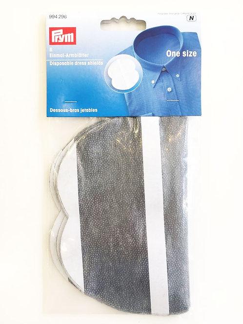 Kertakäyttöinen kainalolappu (valkoinen tai harmaa)