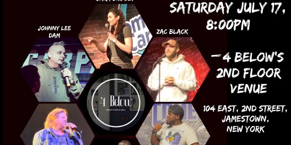 Back by popular demand- comedy night