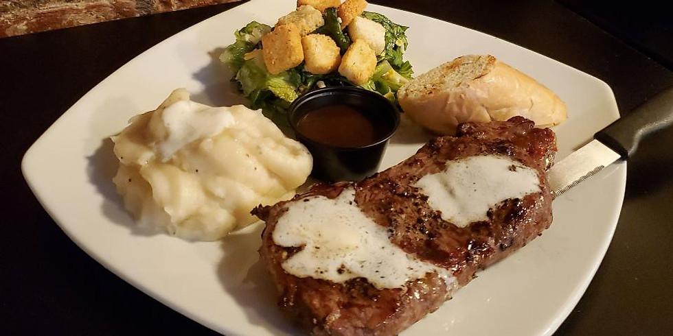 Steak and Beer- $20