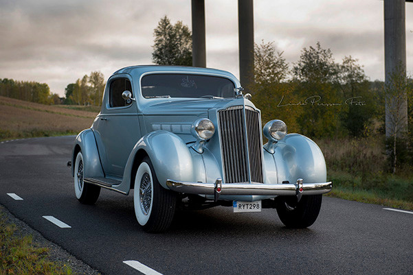 2017 Patina of the year-winner. A 1937 Packard.