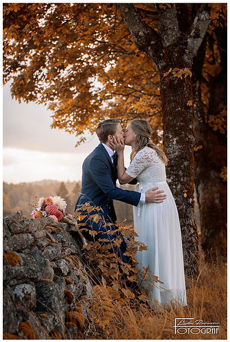 Kisses under the maple tree