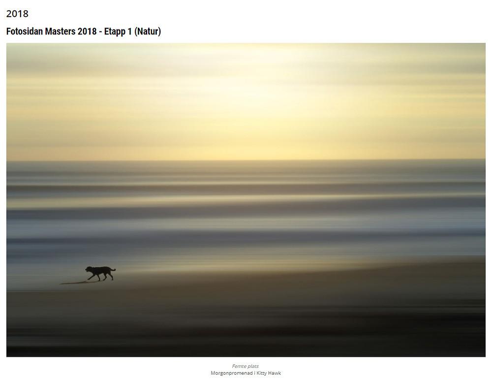 fotosidan.se Femte plats 2018 etapp ett