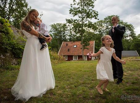 Wedding shoot with a twist
