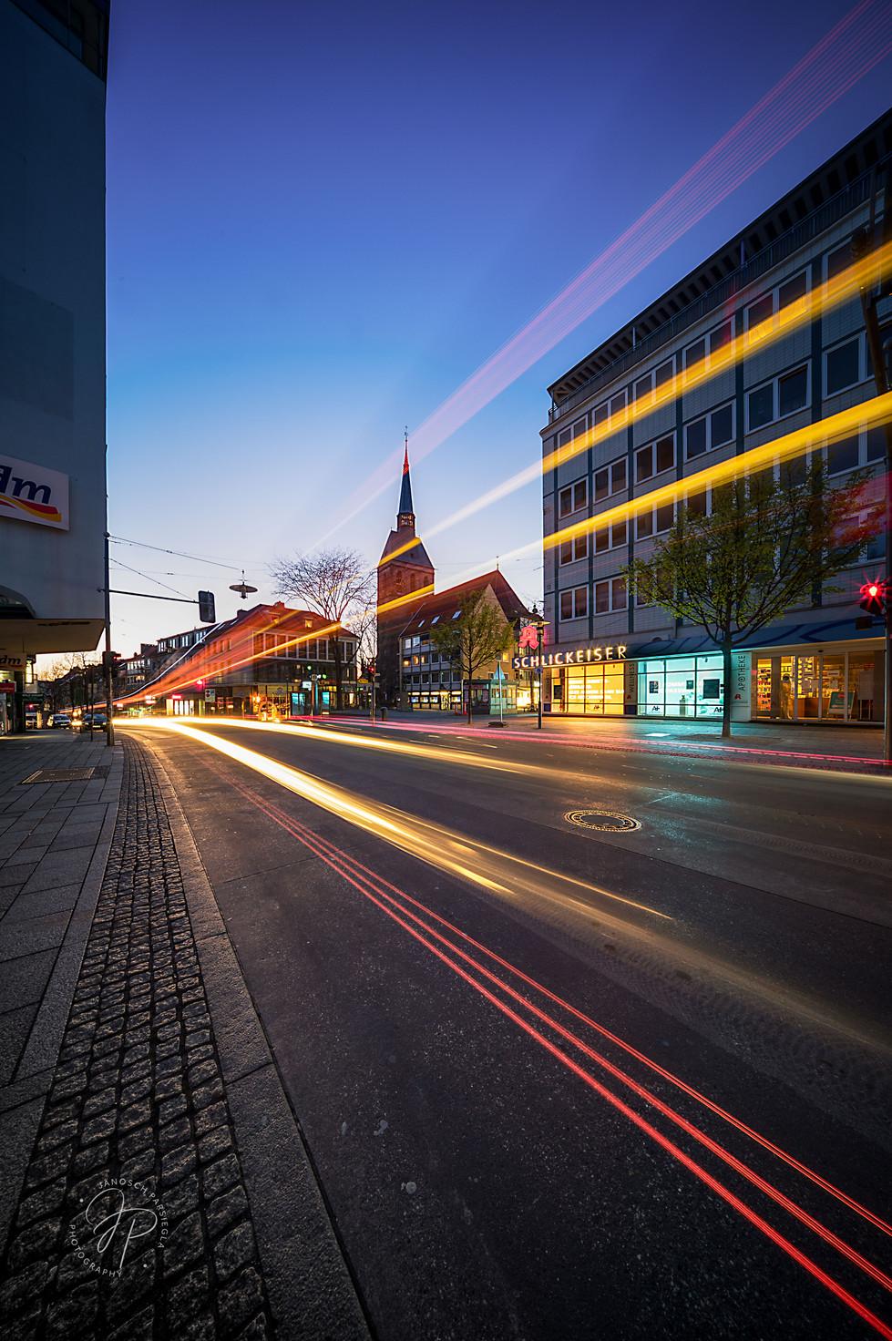 Schuhstrasse traffic