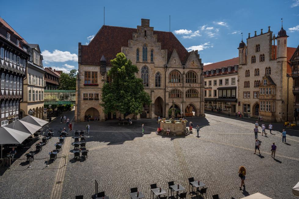 historische Rathaus Hildesheim