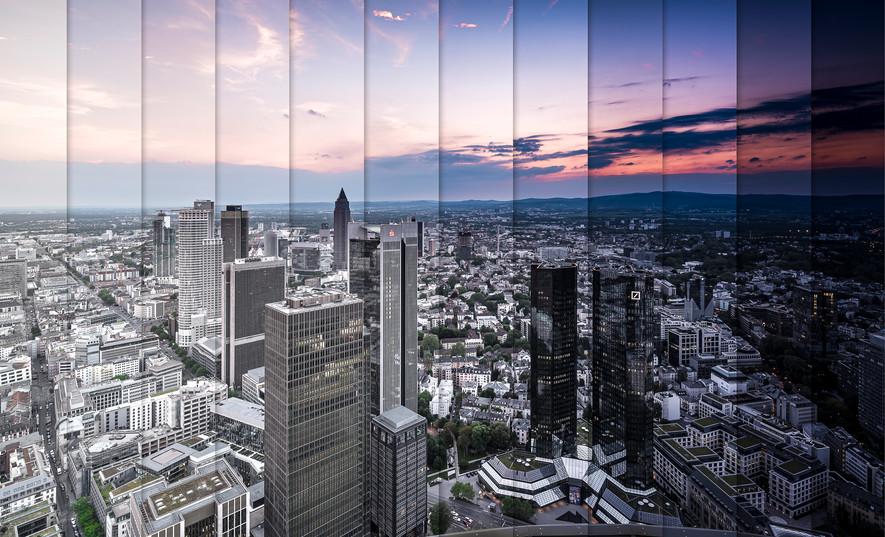 Zeitrafferbild Frankfurt am Main