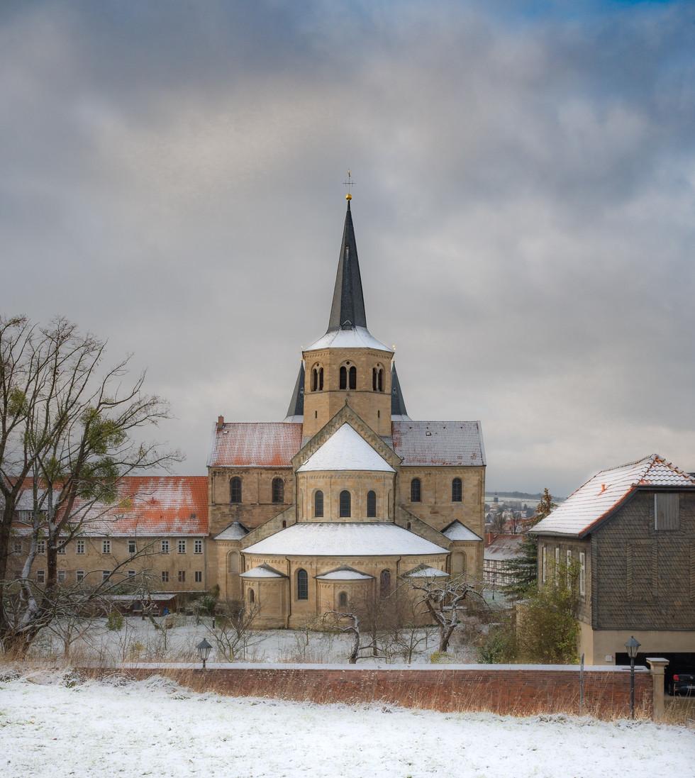 Schnee auf der St. Godehard