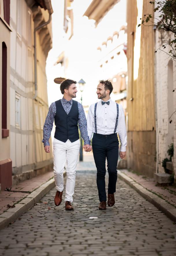 Hochzeit am Kehrwieder