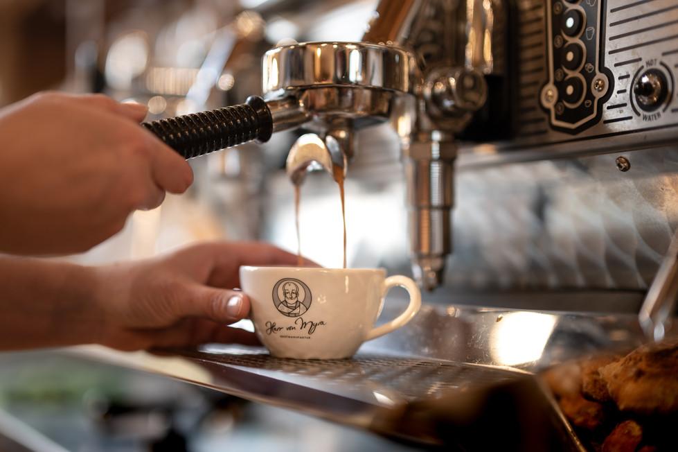 Herr von Myra Kaffee
