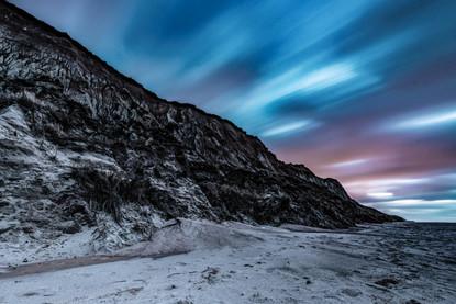 Das Rote Kliff Sylt zur blauen Stunde
