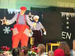 Optreden, Cluwns in Karlsruhe
