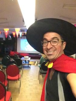 optreden,Sint&Piet in SWDA