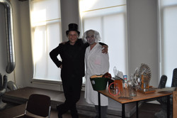 Optreden Erwin en Ali in Groningen