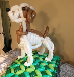 Terrier Balloon Dog