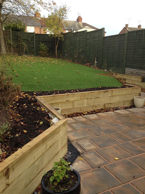 Landscape Garden Nuneaton : Garden coventry dtml landscape design warwick