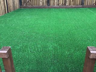 Artificial Grass on Decking Tamworth