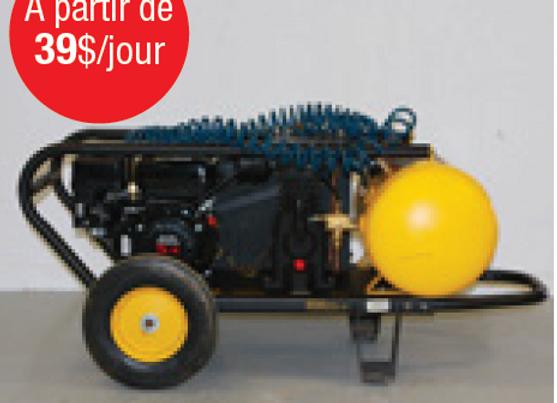 Compresseur à air à essence