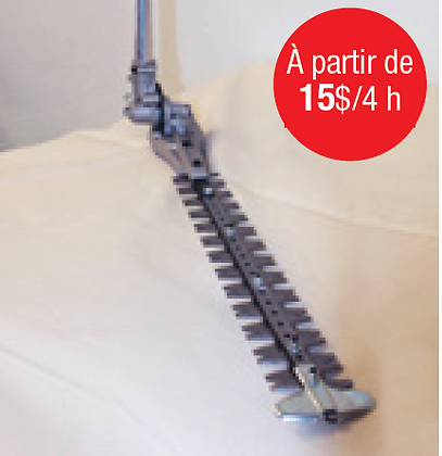 Taille-haie inclinable