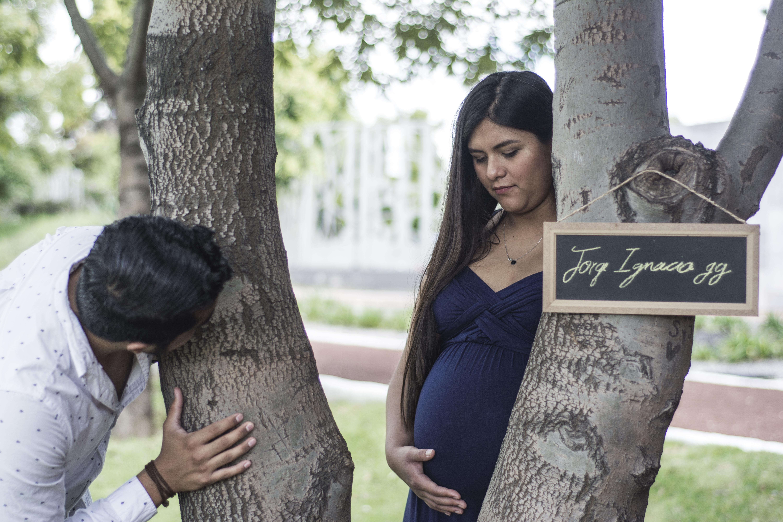 Sesión de embarazo #EsperandoVida