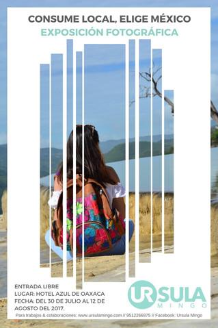 Exposición fotográfica Consume local, elige México
