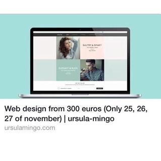 Web design by Ursula Mingo