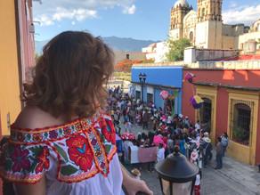 El único plantón que quiero ver en Oaxaca
