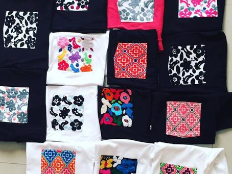 Tshirts básicas con un toque artesanal