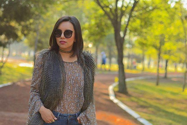 💚 Todas las respuestas están en la naturaleza •_•_Sesión de fotos para _karenmacias_ - Fashion blog
