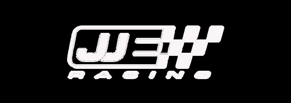 JJE Racing Race Logo_White_Fret Cut Vers