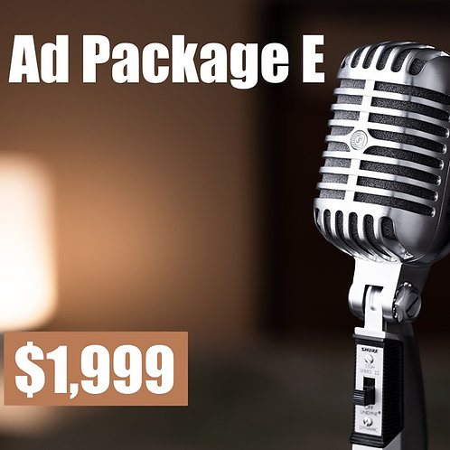 Ad Package E