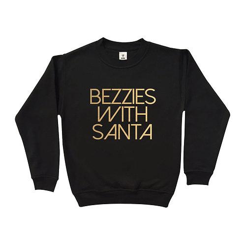 Bezzies With Santa