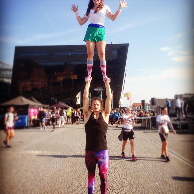 Pokya Entertainment Walkabout acrobats