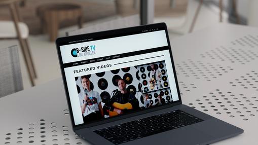B-Side TV // Website Design