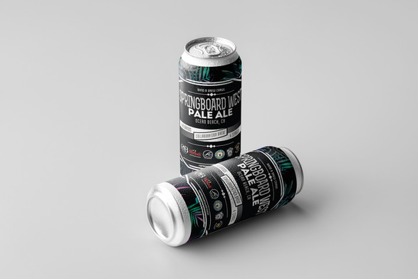 SPRINGBOARD WEST // Custom Beer & Packaging