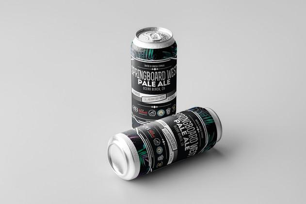 SPRINGBOARD WEST // Custom Beer & Packaging