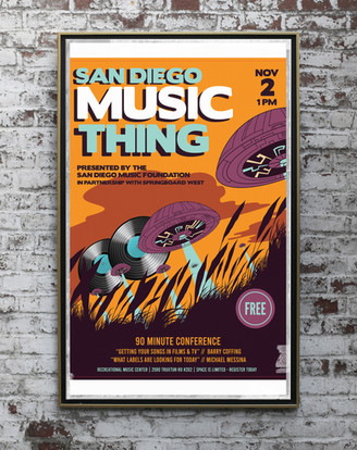 SAN DIEGO MUSIC THING // Graphics