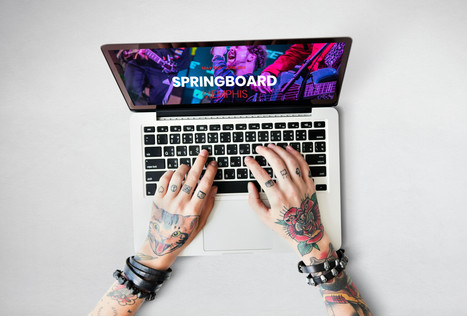 SPRINGBOARD MEMPHIS // Website Design