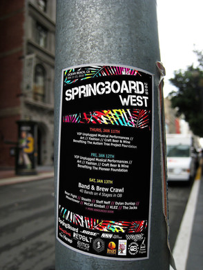 SPRINGBOARD WEST // Messaging