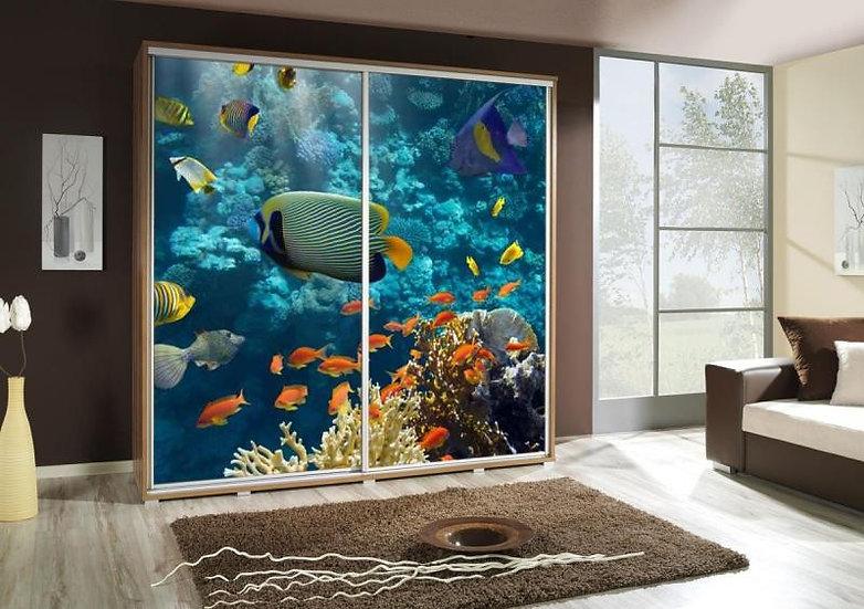 Schiebetürschrank Penelopa 205 Aquarium