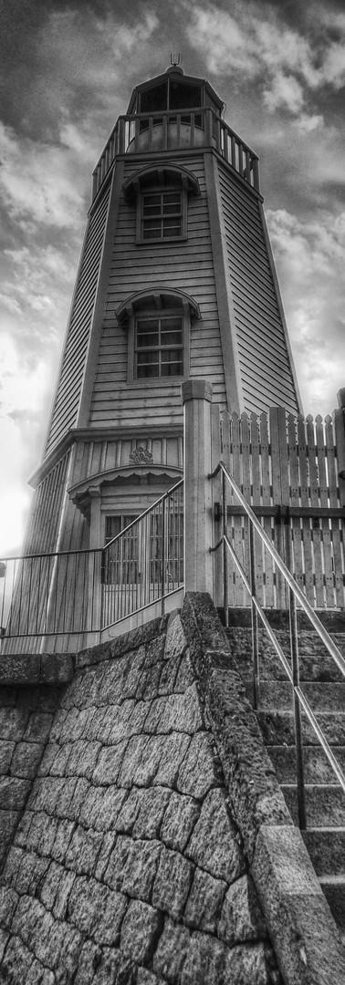 The Old Sakai Lighthouse