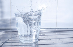 Creative Drink Photography - Save Water