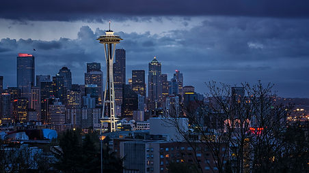 Seattle, USA Sunrise - www.leewalkerphot