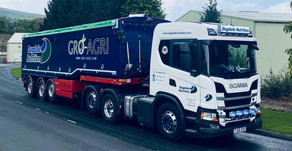 First day on the road for our latest bulk blowing trailer from Muldoon Transport Systems...