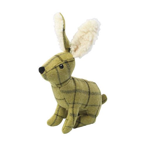 Tweed Rabbit with Squeaker