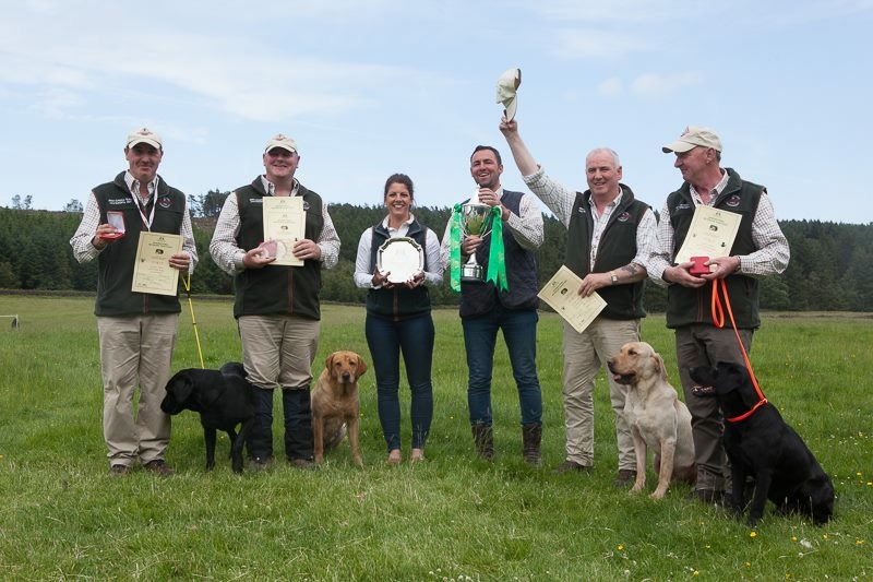 1st Place - Gundogs